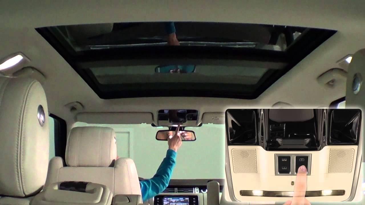 Velar Land Rover >> Land Rover Range Rover. Modelo 2013. Interior   km77.com - YouTube