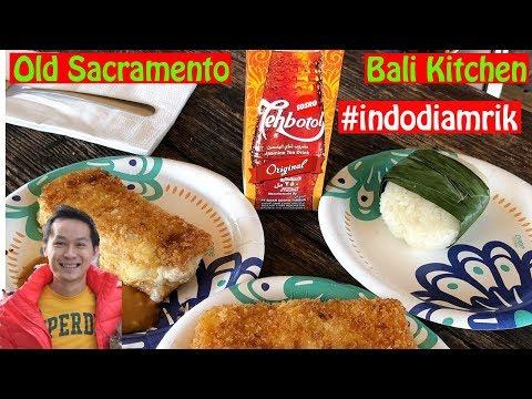 Pergi ke Old Town Sacramento + Nyobain Bali Kitchen #indodiamrik #youtubeindonesia #vloggerindonesia
