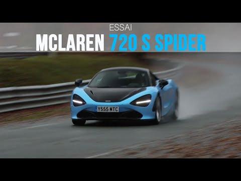 Essai McLaren 720 S Spider