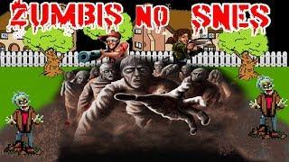 Zumbis No Super Nintendo - Conheça Ghoul Patrol