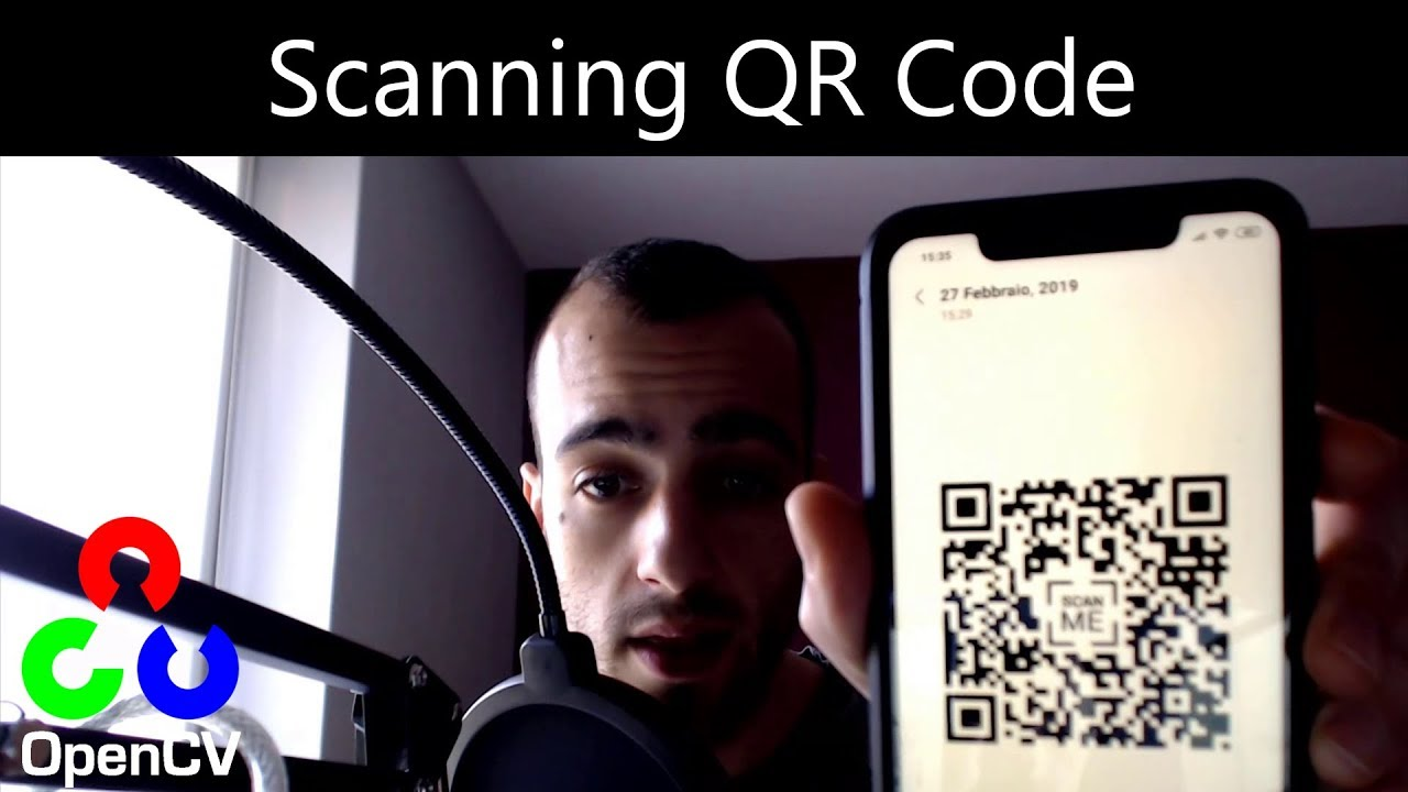 Scanning Qr Code - Opencv with Python