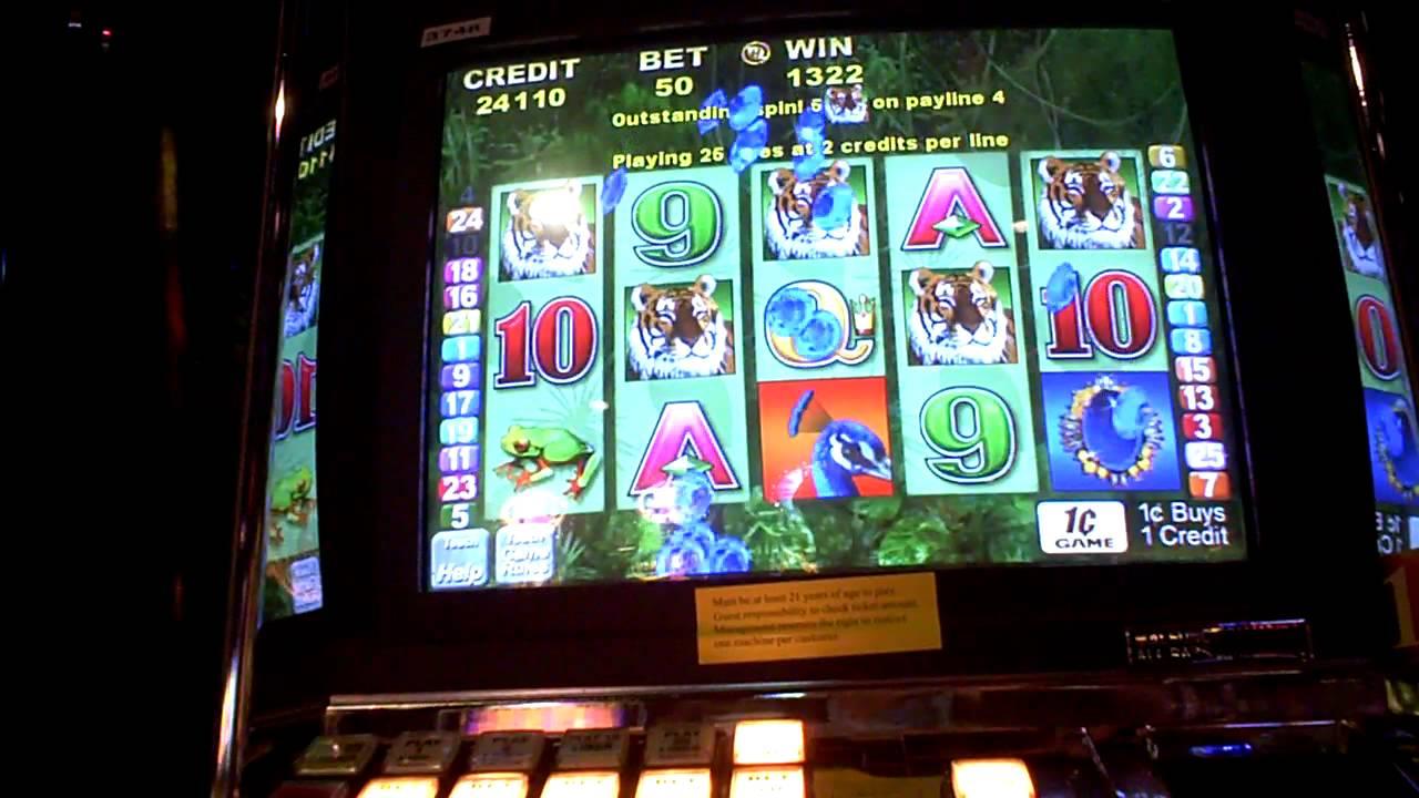 Peacock Magic Slot Machine Online