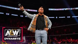 MJF Puts Brian Pillman Jr. on Blast. What Did He Have to Say? | AEW Dynamite, 9/15/21