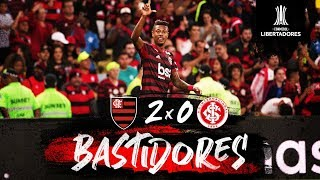 Flamengo 2 x 0 Internacional - Bastidores
