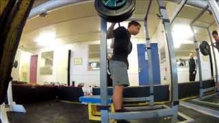 YJfitness - Squat 130kgx5 and SMP 55kgx4