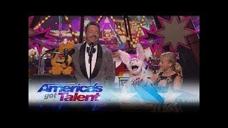 Darci Lynne and Terry Fator Deliver An Unbelievable Performance - America's Got Talent 2017-Reaction