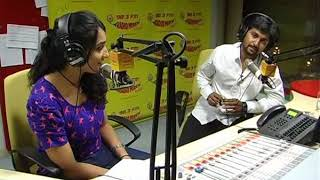 Repeat youtube video Hero Nani and Wife Anjana interview at Radio Mirchi