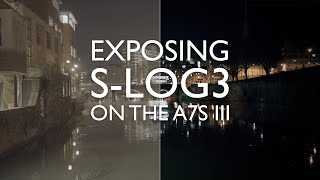 How To Expose SLOG3 Wİth The Sony a7S III - Must Watch Tips