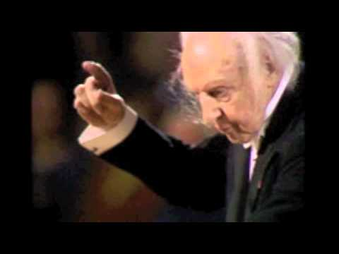 Leopold Stokowski conducts the 1st Movement of Brahms' 4th Symphony ('live')