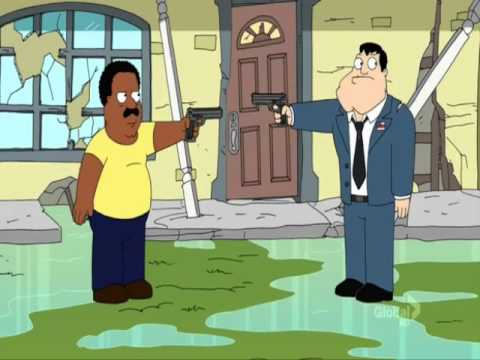 American Dad - Stan, Cleveland, And Peter Griffin!