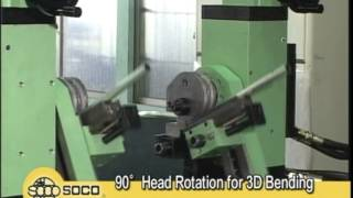 High Speed Double Head Tube Bender - SOCO TB Series - Tube Form Solutions