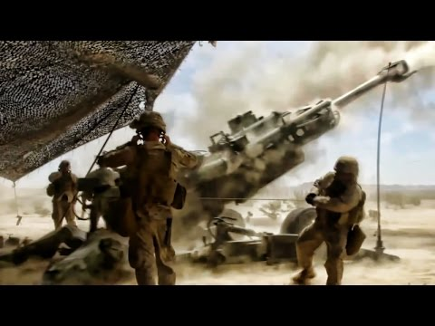 Marines Battalion Fire Mission • M-777 Howitzer
