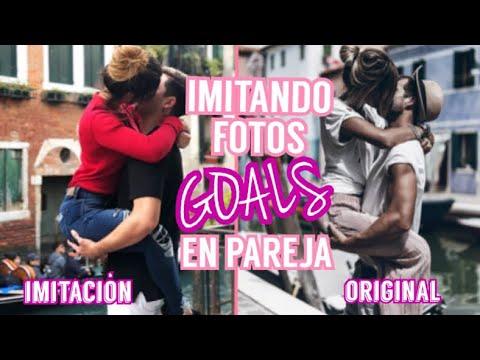 IMITANDO FOTOS GOALS EN PAREJA / Kimberly Loaiza FT. Juan De Dios Pantoja