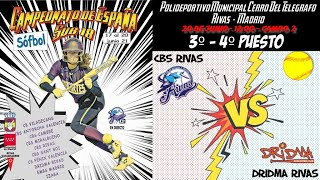 3º - 4º PUESTO CBS RIVAS vs DRIDMA RIVAS - 12:00