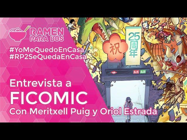 ENTREVISTA A FICOMIC con Meritxell Puig y Oriol Estrada