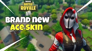 Fortnite: Battle Royale - New Ace Skin Gameplay
