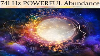 741 Hz POWERFUL Abundance Meditation  Luck Prosperity and Wealth  Simply Hypnotic