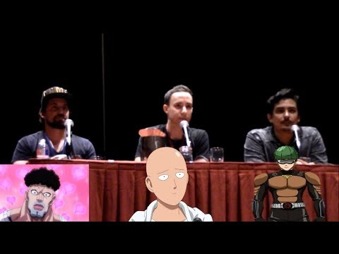 One Punch Man Panel w Ray Chase, Max Mittleman and Robbie Daymond at San Japan 2017