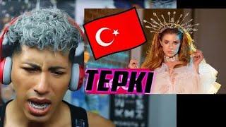 REACTING TO TURKISH POP  _ Feride Hilal Akın - Yok Yok Resimi