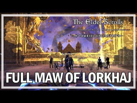 The Elder Scrolls Online - FULL MAW OF LORKHAJ TRIAL GAMEPLAY