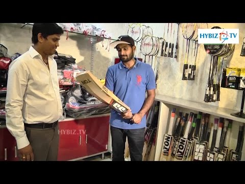 Ambati Rayudu Inaugurates Y5 Sports at JNTU Road Hyderabad - hybiz