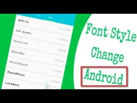 Font Changer Magisk