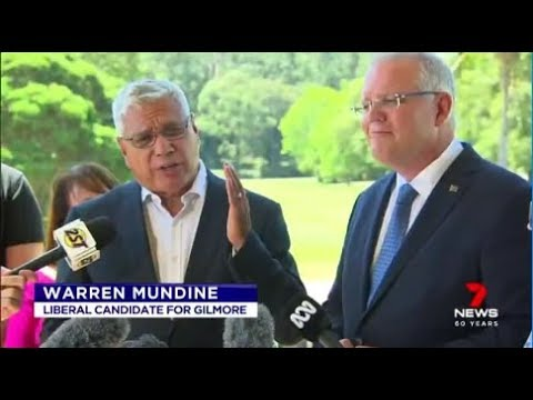 Gilmore candidate Warren Mundine would like to see the date of Australia Day changed