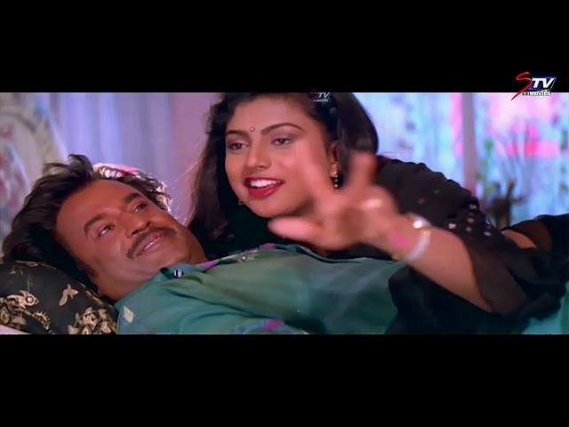 Veera Tamil Movie Comedy Scenes - 3   Rajnikanth ,Meena , Senthil    Full HD   STV Movies