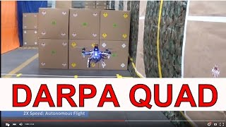 """DARPA """"Drone""""?! 45 MPH Quadcoptor with eyes and a lead foot!"""