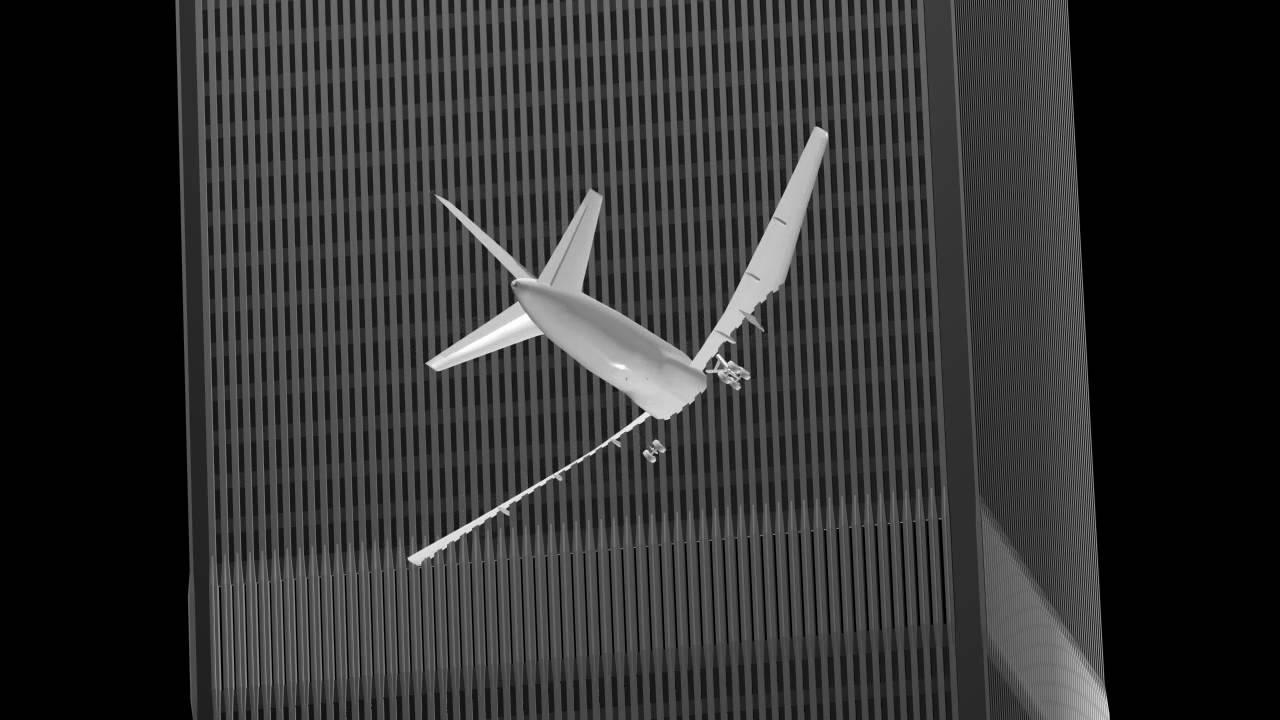 NIST Flight 175 Impact Angle (Draft) - YouTube