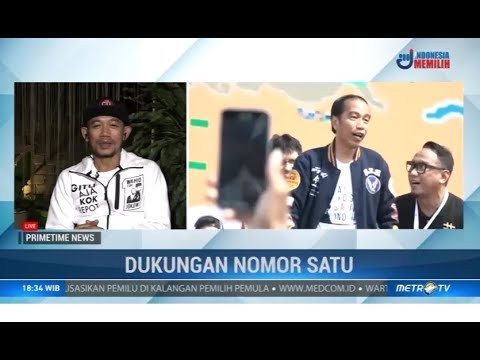 Inspirasi Marzuki Mohamad Ciptakan Lagu Goyang Jempol Jokowi Gaspol