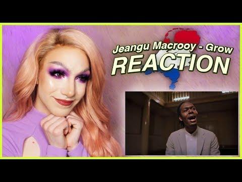 NETHERLANDS - Jeangu Macrooy - Grow | Eurovision 2020 REACTION