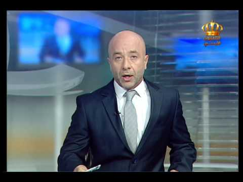 English News at Ten on Jordan Television 27-07-2017