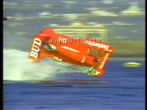 Speed Boat Flips During Race