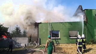 Pożar warsztatu samochodowego [03.08.2015r]