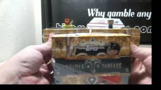 2015 Topps Triple Threads Baseball 9 Box Inner Case Break ( Triple Auto & 1/1 MOJO )