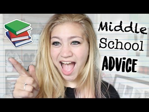 Middle School Advice + How to Make Friends