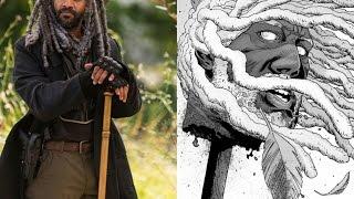 Morte De Ezequiel e Rosita - HQ The Walking Dead