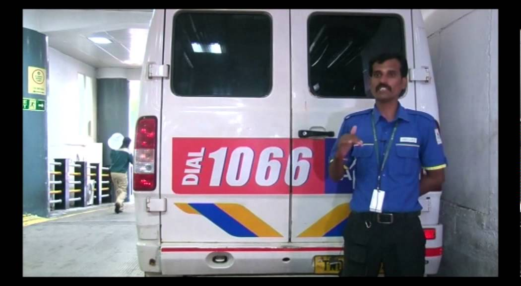 ambulance driver speaks of the challenges he faced