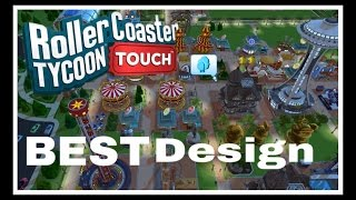 Best Park Design | How To Design Your Park | RollerCoaster Tycoon Touch | RCT Touch screenshot 4