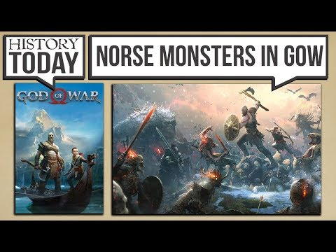 History Today - The Monsters of Norse Mythology in God of War 4