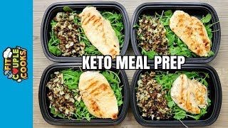 How To Meal Prep - Ep. 72 - KETO CHICKEN (4 Meals/$3 Each) - KETO MEAL PREP thumbnail