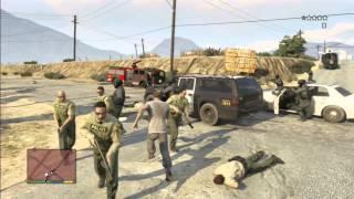GTA V Bug: 5 Estrelas e Policia Burra