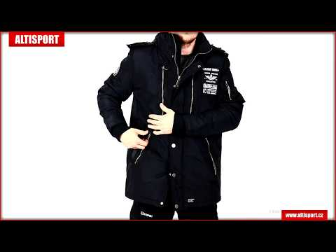 pánská bunda ombre ac360 black - lovemotorbike.info 782f6cde1c