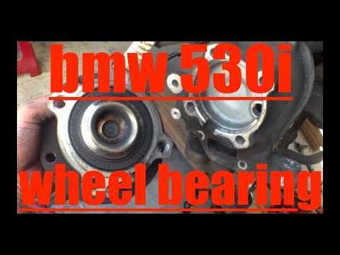 how-to-replace-front-wheel-bearing-and-struts-bmw-530i-√