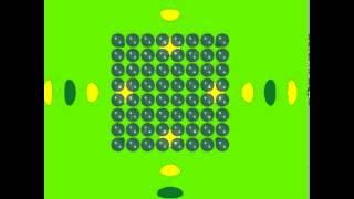TDBEM SONATE simulation of a metamaterial (incident spherical wave)