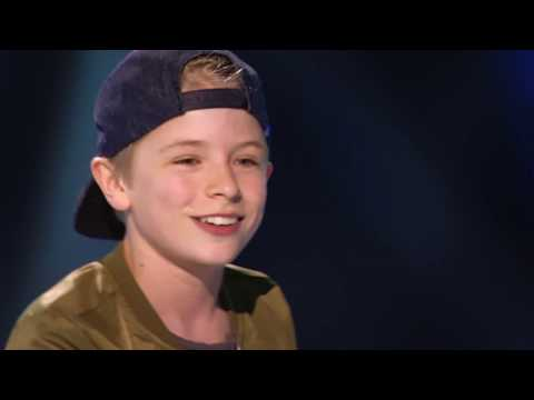 Jonathan - 'Take It Back' | Sing-off | The Voice Kids | VTM