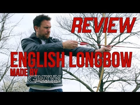 English Lowbow Review: A Grayvn Classic Longbow