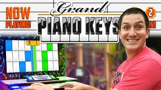 Grand Piano Keys - Arcade Ticket Game