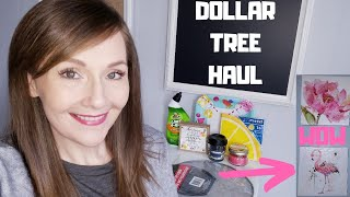 Dollar Tree Haul💜May 5, 2019 PLUS a dining room makeover with DT items!